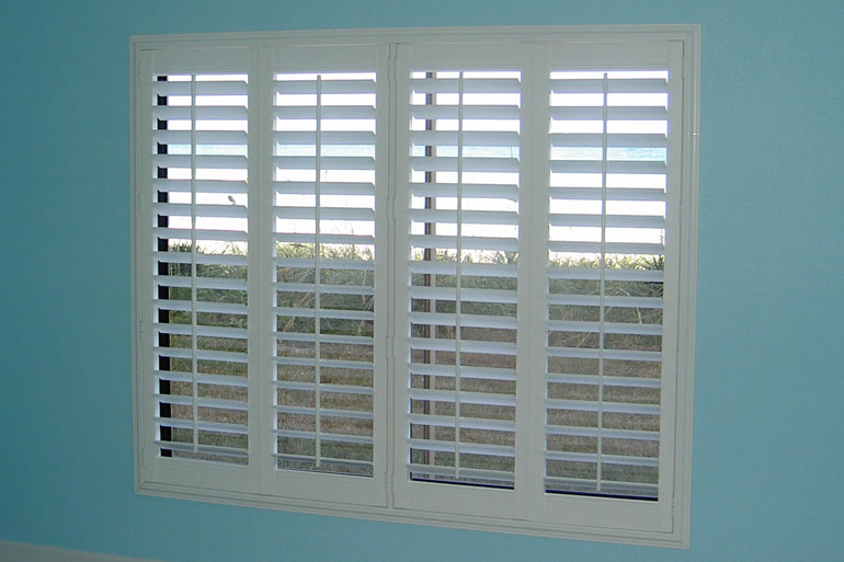 Vertical Express Motorized Window Shades Plantation Shutters